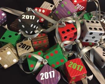 D6 Dice Ornaments