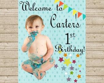 First Birthday Sign
