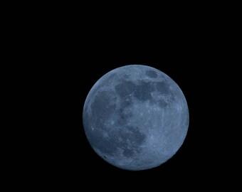 Blue Moon,Fine Art Photography