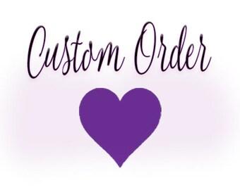Custom veil for Marissa