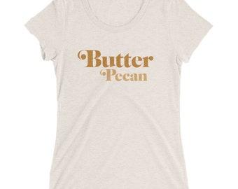 Butter Pecan Tee