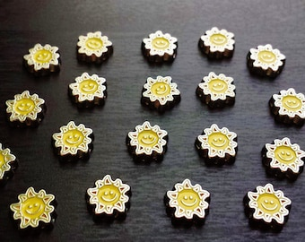 Sun Floating Charm for Floating Lockets-Gift Idea