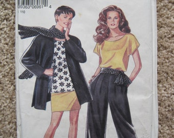UNCUT Misses Jacket, Skirt and Trousers - Simplicity Sewing Pattern 6961