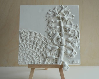 Hyacinth Relief Picture Gift Wall