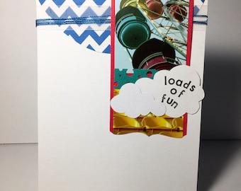 Loads of Fun handmade birthday card