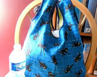 Japanese Ninja Foldable Shopping Bag