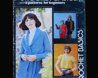 Crochet, Crochet Patterns, How to crochet, Leisure Arts Crochet Basics Leaflet 66