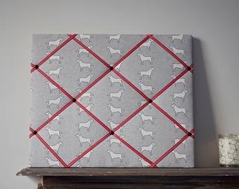 Labrador Memo Board, Notice Board, house warming gift, Bedroom Memo Board, French Style Fabric Memo Board, Photo Display, Labrador Gift