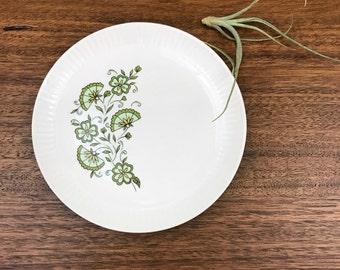 Small Floral Lunch Plate