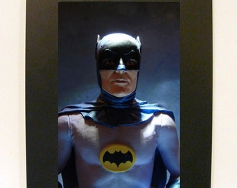 "Framed Batman TV Toy Photograph 5"" x 7"""