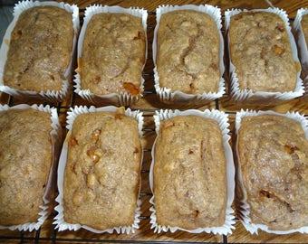 Scrumptious Homemade Pumpkin Spice Caramel Banana Bread With Choices
