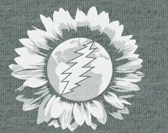 Sunflower Earth Zip Hoodie