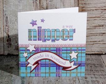 Greetings Card Wee Nipper Boy