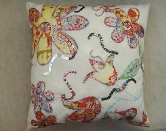 Peach Sorbet cushion