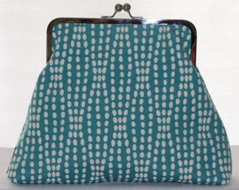 Clutch - Spotted Turquoise