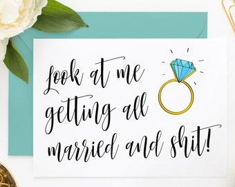 Funny Bridesmaid Card, Bridesmaid Proposal Card, For Bridesmaid Box, Proposal Box, Funny Maid of Honor Card
