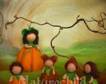 """Photographical print """"Pumpkins"""" - 10,6 x 8 inches - like Waldorf, by Naturechild"""