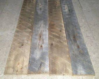 4 pc. of Reclaimed Poplar Lumber
