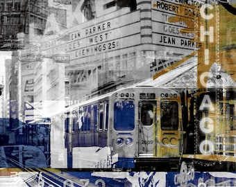 CHICAGO IX by Sven Pfrommer - Artwork is ready to hang