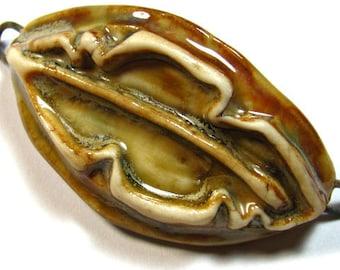 Ceramic Leaf Bracelet bar