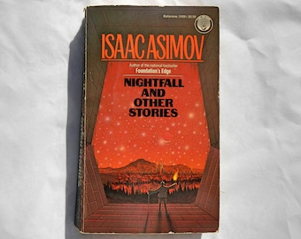 Isaac Asimov Nightfall and Other Stories Vintage Paperback Book