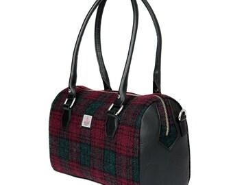 Harris Tweed Bowling Bag