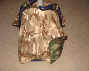 Baby Seat Cover Army Tent