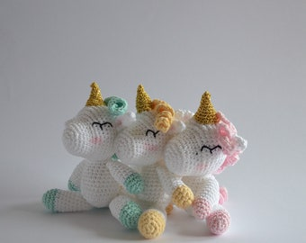 Unicorn toy, My little pony, unicorn gift, unicorns, unicorn ornaments, crochet, baby girl, baby shower gift, birthday gift, gift for her