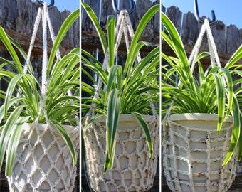 3 Plant Hangers - PDF Crochet Pattern - Instant Download