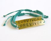 Previvor bracelet, Surviv...