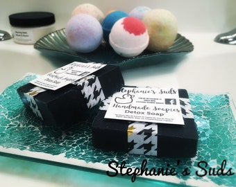 Detox Soap black soap acne soap pregnancy acne soap All Natural Soap, Handmade Soap, Homemade Soap, Handcrafted Soap