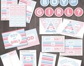 Gender Reveal Party Suppl...