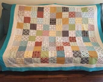 Aboriginal Quilt Top- Unfinished Quilt Top- Quilt Top- Patchwork Quilt Top- Unfinished Quilt- Handmade Quilt Top- Quilter's Special