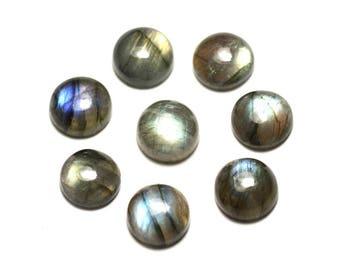 1pc - Cabochon stone - Labradorite round 10mm - 8741140020023