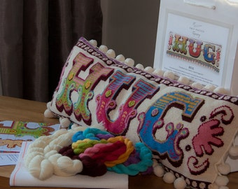 Hug Cross Stitch Kit - small
