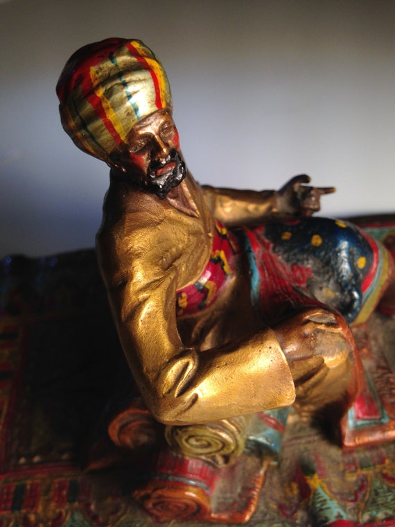 Bergmann School Cold Painted Austrian Bronze - Carpet Dealer