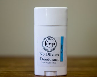 No Offense Deodorant by Blue L Essentials - Agua Frio (Cool Water for Men Type)