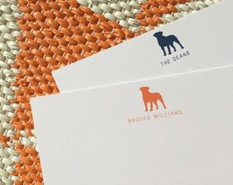 Lab Stationary - Labrador Retriever Stationery Set of 20 Flat Note Cards