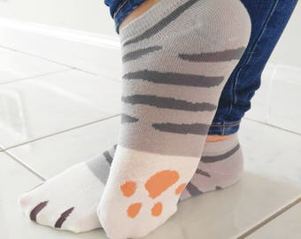Anime Neko Cat Paw Socks