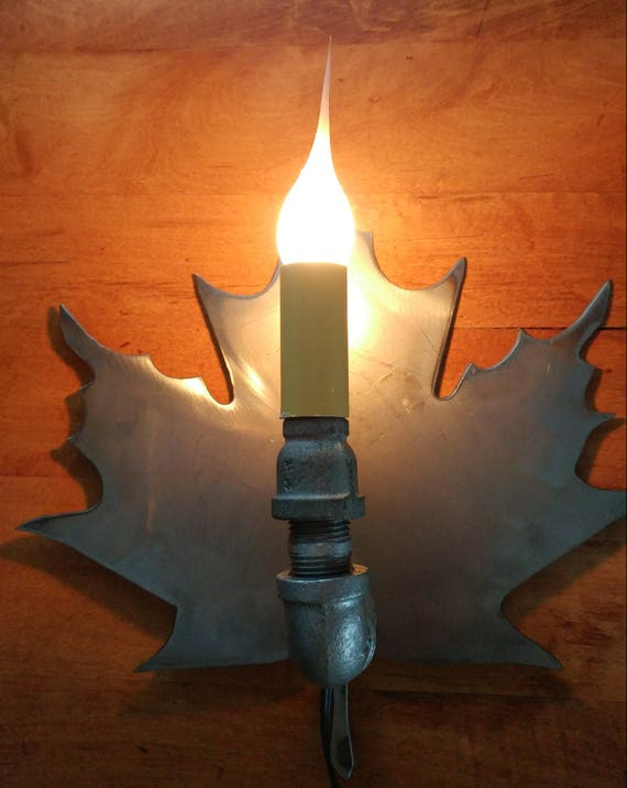 Maple Leaf Wall Light Sconce