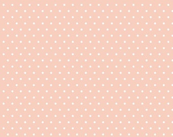 Polka Dot - Pink - Tout Petit KNIT by Cloud9 Fabrics
