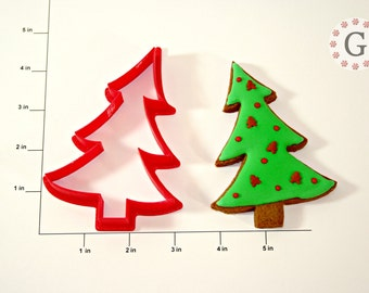 Tilted Tree Cookie Cutter