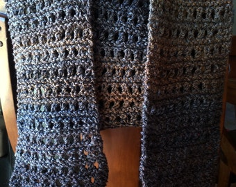 Brown ombre scarf