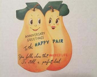 Vintage Anniversary card