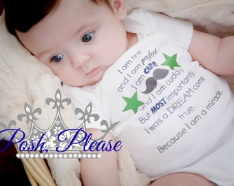 Newborn Take Home Outfit Miracle Baby Boy Outfit Preemie Outfit Going Home Hospital Outfit Coming Home Outfit Baby Shower Gift