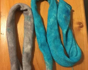 Sock blank dyed