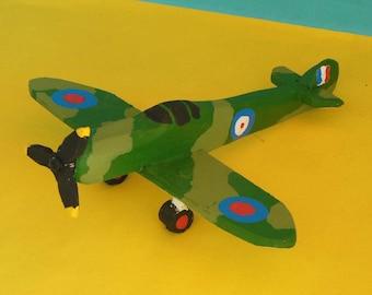 Supermarine Spitfire Toy Airplane