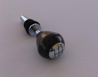 Gear shift bottle stopper