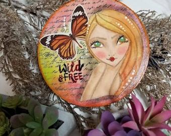 Wild & Free mini ORIGINAL  art.