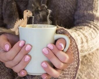 Tea Buddy™ Rawr Tea Infuser  dinosaur tea steeper with mesh ball, gift for him, tea strainer for loose leaf tea, tea time,